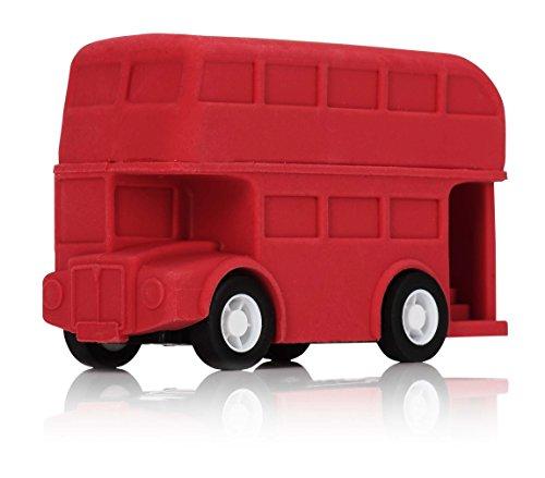 NPW-USA London Double Decker Bus Racing Eraser