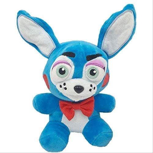 Stuffed Toys 18cm FNAF Five Nights at Freddy's Phantom Foxy Plush Doll Stuffed Toy Kids Great 18cm Blue Rabbit