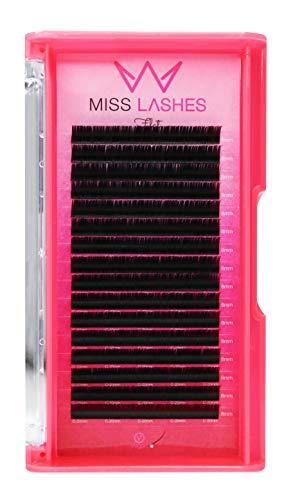 Miss Lashes Cils plats 1:1 Mat 0,20 C 8 mm 32 g