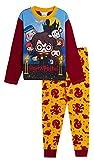 Pijama de Harry Potter de longitud completa para niños y niñas, diseño de Gryffidor, Hogwarts Blanco multicolor 4-5 Años
