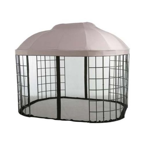 Replacement Canopy Top Cover for Pacific Casual Oval Dome Gazebo - with RIPLOCK Technology