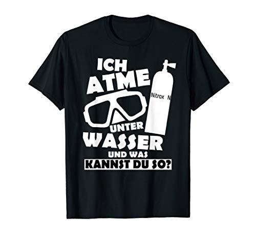 Taucher Shirt - Lustiger Scuba Diver Herren Spruch, Geschenk