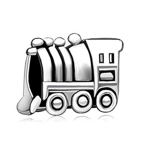 Colgante De Plata De Ley 925, Pulseras Con Dijes De Pandora, Camión Elegante, Abalorios Europeos, Pulseras, Cuentas Para Hacer Joyas, Regalo De Cumpleaños