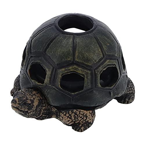 Cenicero, alta dureza, fácil de limpiar, diseño con forma de tortuga, duradero, cenicero de animal de tortuga para oficinas, para el hogar