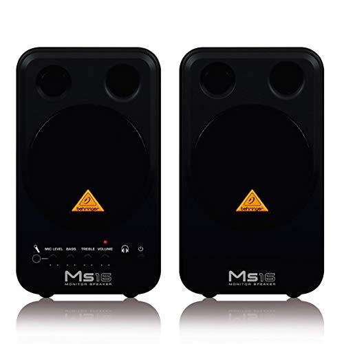 Behringer MS16 stereo monitor luidspreker (16 watt)