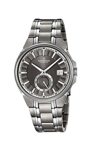 Candino Reloj Análogo clásico para Hombre de Cuarzo con Correa en Titanio C4604/1