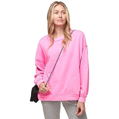여성용 메티 크루 스웨터 자유복의 FP 운동