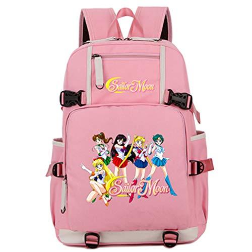 YOYOSHome Anime Sailor Moon Backpack Cosplay Bookbag Daypack Laptop Bag School Bag