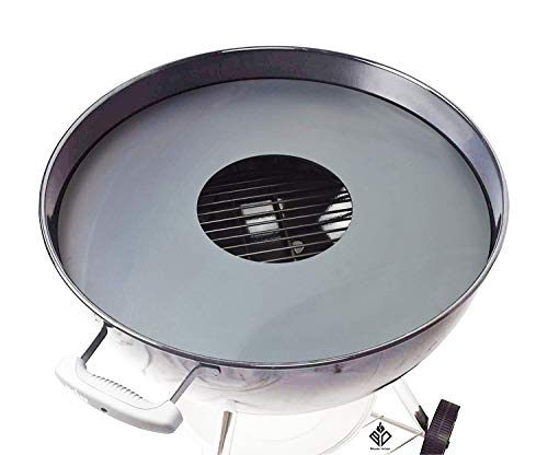 Becker Design 6mm Feuerplatte | Grillring | Grillplatte | Plancha - Passend für 57 cm Kugelgrill/Feuerschale