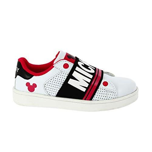 Sneaker Slip On con Elastico Topolino (24 EU)
