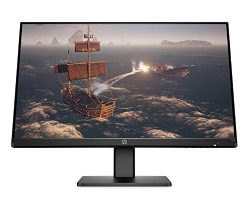 HP X24i Gaming Monitor | Computer Monitor with 144Hz Refresh Rate and IPS Panel Screen | 24 Inch Monitor for Entry-Level Players | AMD FreeSync Premium Certified Monitor | (2W922AA)