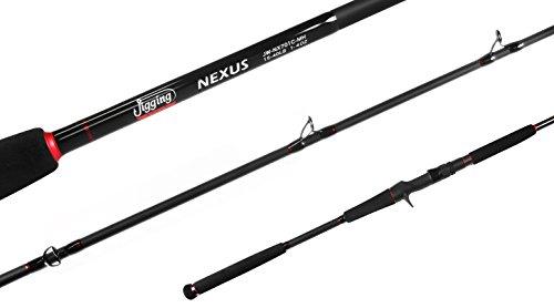 Jigging world JW-NX701C-H 7' Heavy Nexus Casting Rod 20-50LB 2-6OZ