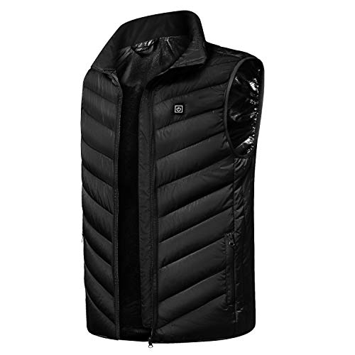 Buy Cheap Faway Heated Vest for Men Rechargeable USB Electric (Battery Not Included)