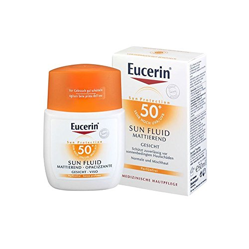 Eucerin Sensitive Protect Face Sun Fluid LSF 50+, 50 ml Fluid