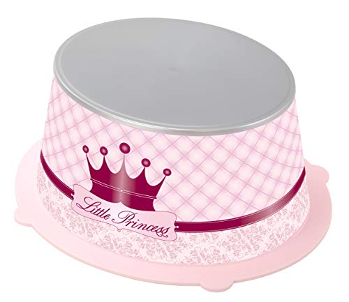 Rotho Babydesign Marchepied Little Princess StyLe!, Surface de Marche Antidérapante, StyLe!, Rose, 202160208BG