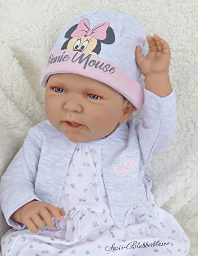 Dorodolls Anatomisch korrekte Mädchen Babypuppe Dulcina, 53cm