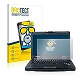 BROTECT Protector Pantalla Cristal Mate Compatible con Panasonic Toughbook 55 Full-HD Touch Protector Pantalla Anti-Reflejos Vidrio, AirGlass