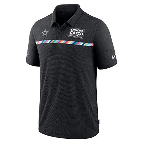 NFL Dallas Cowboys Herren Nike Early Season Crucial Catch Polo, Herren, schwarz, Medium