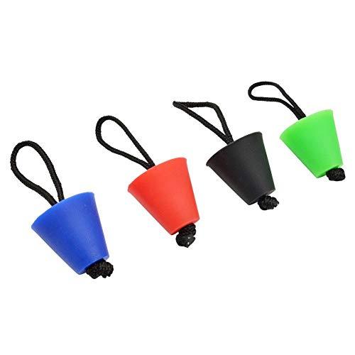 Groust 4 STÜCKE Beste Universal Kajak Scucker Plug Kit Kajak Scucker Plug Kit Wasserablauf Plug Kit Kanu Ablauflöcher Stopper Bung Geeignet Für Kajak-Abflusslöcher