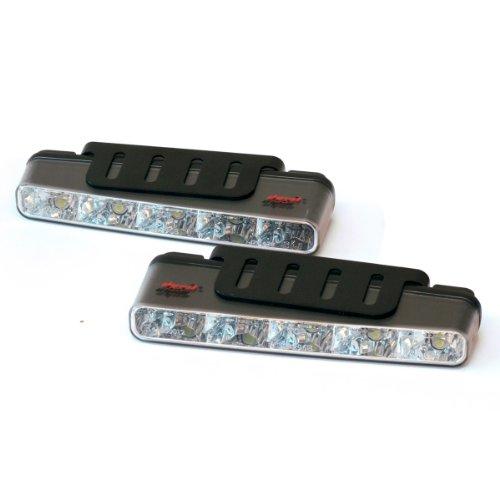 devil eyes 610764 LED Tagfahrlicht eckig ECE R87 2 X 5 LEDs