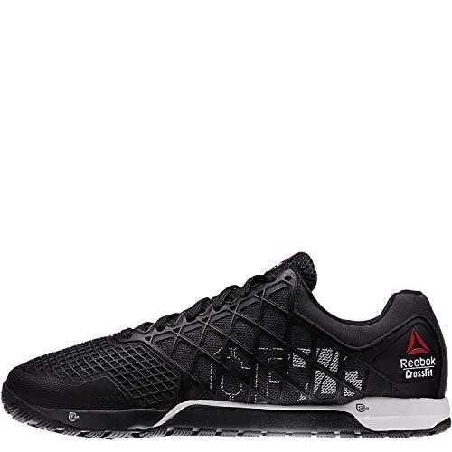 adidas Herren 5 M Calo 5 m Flip Flops-Blue/weiß, Größe 10 - Schwarz/Rot/Weiß, 13 UK