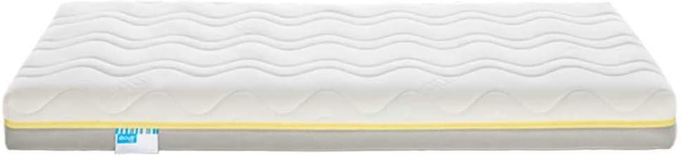 Ecus Kids viscoelástica Colchón de Cuna oxsi visco Plus 140 x 070, 140x70x12 cm (Paquete de 1)