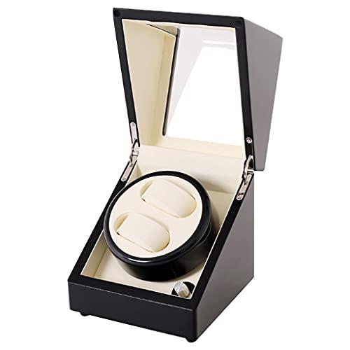 SYST Agitador de Reloj automático, con Motor Ultra silencioso, 5 configuraciones de Modo de rotación, Adecuado para Relojes de Damas y Hombres (18 × 18 × 20 cm)