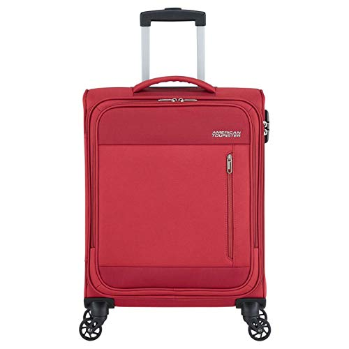 American Tourister Heat Wave Spinner 55 brick red 4 ruote