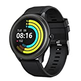 Vigorun Montres Connectée Homme, Smartwatch Étanche IP68 Montre Intelligente Fitness Trackers d'Activité 10 Modes Sport Cardio Calories Podomètre Sommeil pour iOS Android Telephone, Noir