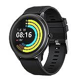 Vigorun Smartwatch, Reloj Inteligente Pantalla Táctil 1.3' Hombres Mujeres, IP68 Impermeable 10 Modos Deportivos 24H Fitness Monitor de Sueño Frecuencia Cardíaca Podómetro para Android (Negro)