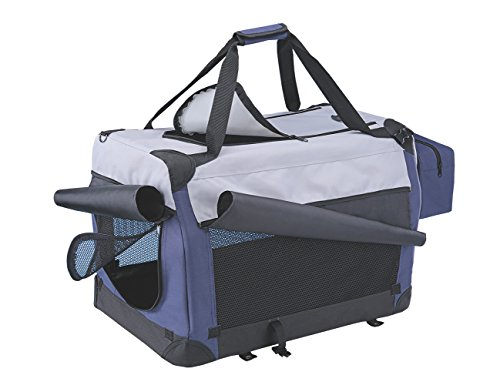 Nobby Traveller PLUS blau / grau L x B x H: 60 x 42 x 42 cm