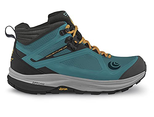 Topo Athletic Women's Trail Running Trailventure WP Hiking Boots Teal/Gold