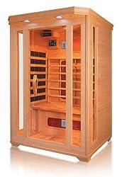 Wärmekabine Test Sauna Eck von Trade-Line-Partner, Infrarotkabine, Infrarotsauna, Infrarotwärmekabine, Infrarotlampe