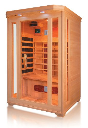 Trade-Line-Partner Infrared Heat Cabin, Sauna Cabin For up to 2 people.