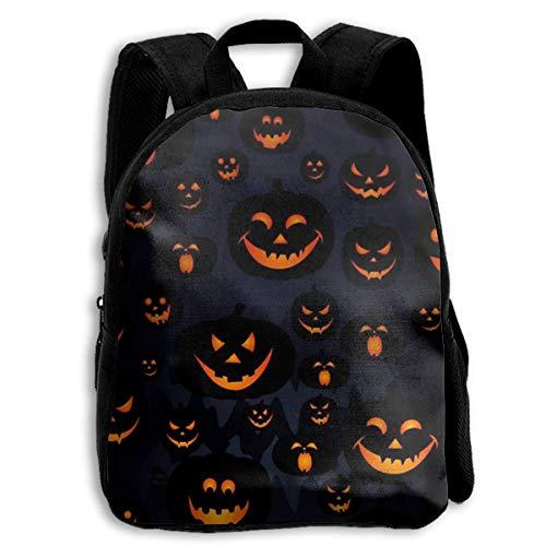 Student Bag,Halloween Kürbis Laterne 2019 Studententasche, Drucken Student Bookbags Für Jugendliche Kinder,27cm(W) x34cm(H)