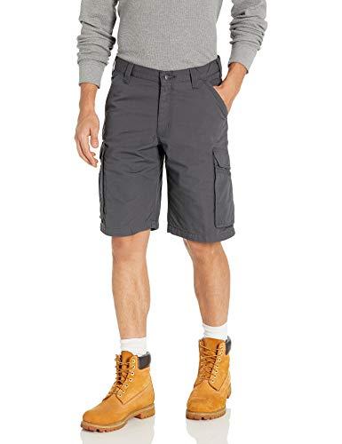 Carhartt Sportswear - Mens Carhartt Herren Force Tappen Cargo Shorts, Shadow, 49