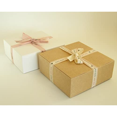 Wholesale luxury natural kraft medium folding gift boxes from.