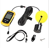 Best Portable Handheld Fish Finder Portable Fishing Kayak Fishfinder Fish Depth Finder Fishing Gear with Sonar Transducer and LCD Display