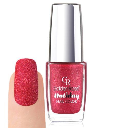 Golden Rose Holiday - Vernis à ongles sablé - Collection d'été couleur 56 - 11,3 ml