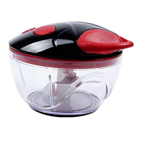 Fleischschleifer Leistungsstarke manuelle Fleischschleifer Handkraft Lebensmittel Chopper Mincer Mixer Mixer, um Fleischfrucht zu hacken Gemüse Nüsse Zerkleinerer Maschine Für Zuhause, Küche, Kochwerk