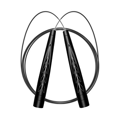 YOUNSH Jump Rope Workout Tangle-Free - Speed Skipping Rope Adjustable for Women Men Kids, Speed Jumping, Cardio Training, Home Workouts, Boxing,MMA