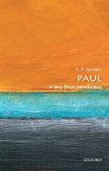 Book cover: Paul: A Very Short Introduction by E. P. Sanders