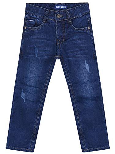 BEZLIT Thermo jeans voor jongens, elastische tailleband gevoerd 30173