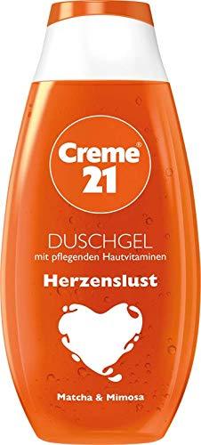Creme 21 Duschgel und Duschcreme verschiedene Sorten (250ml Duschgel HERZENSLUST)