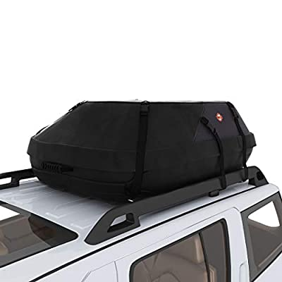Car Top Carrier 20 Cubic Feet Waterproof Roof Top Cargo Bag Fit for The Outdoor Elements