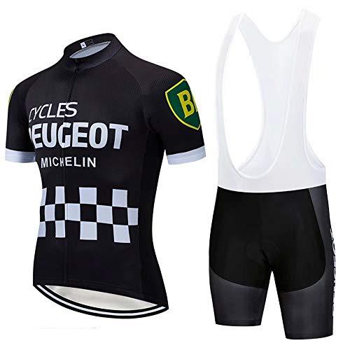 CQXMM Traje de Ciclismo para Hombre de Equipos. Culotte y Maillot con...