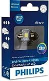 Philips automotive lighting 129416000KX1 X-tremeUltinon LED luz interior para coche C5W 30mm Festoon 6000K 12V, 1 unidad, 6.000K