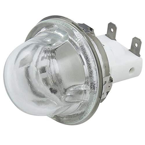 REFURBISHHOUSE E14 Sostenedor de La Lámpara del Horno Hornear 15W / 25W Sostenedor de La Lámpara de Iluminación Tapa de La Lámpara del Horno Base de Lámpara de Alta Temperatura E14 500 Grados