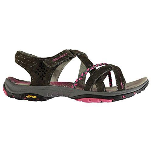 Karrimor Womens Tobago wandelen sandalen schoenen aanraken en sluiten lichtgewicht Vibram grijs UK 5 (38)
