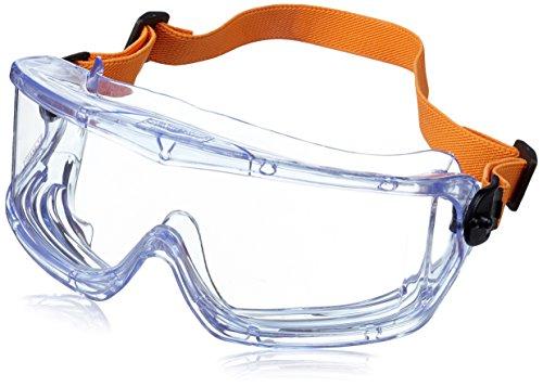 Honeywell V-Maxx Vollsichtbrille mit Fog-Ban-Antibeschlag-Beschichtung und elastisches Kopfband 1006195, Klar